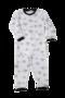 Witte baby pyjama